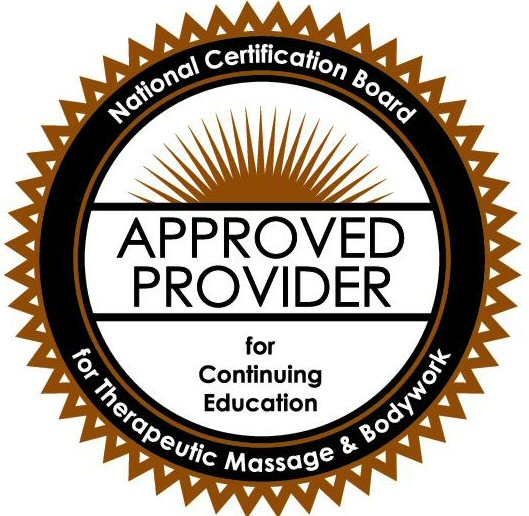 NCBTMB APPROVED PROVIDER for Continuing Education